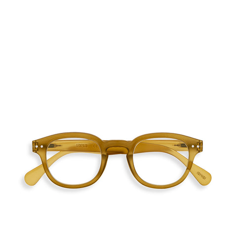 """C"" Bottle Green Reading Glasses"