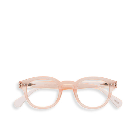 """C"" Rose Quartz Reading Glasses"