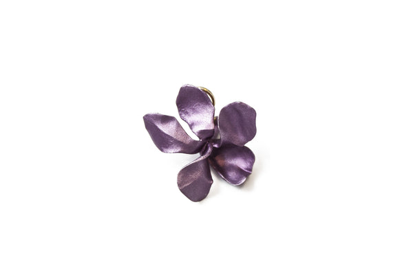 """Wild Violet"" Mono Earring - ARCHIVES - 1"