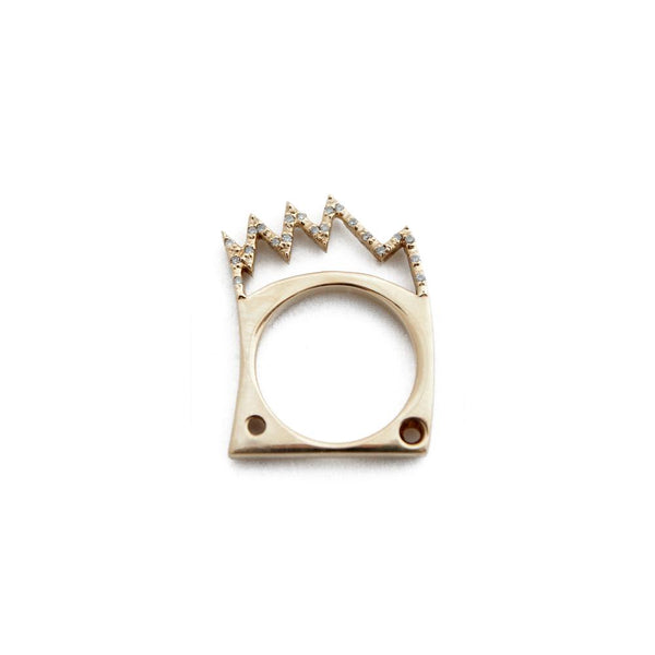 """JEAN-MICHEL'S CROWN"" RING"