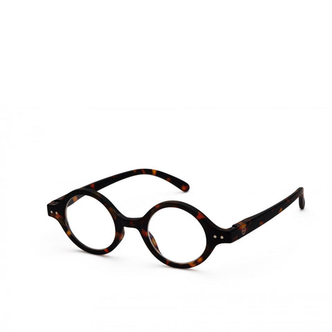 """J"" Tortoise Reading Glasses"
