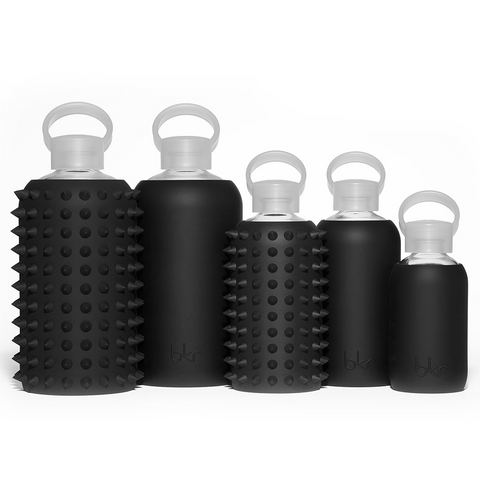 """Spiked Jet Black 500ML"" Water Bottle"