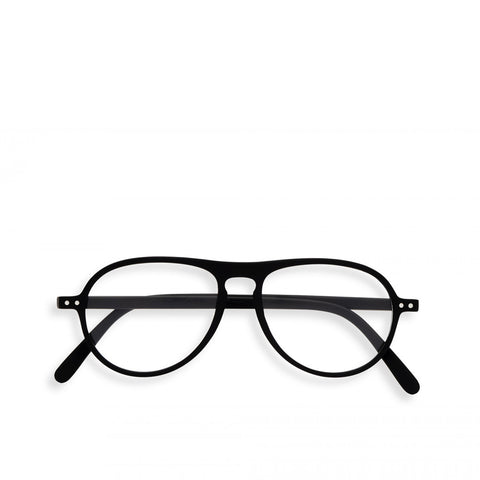 """K"" Black Reading Glasses"