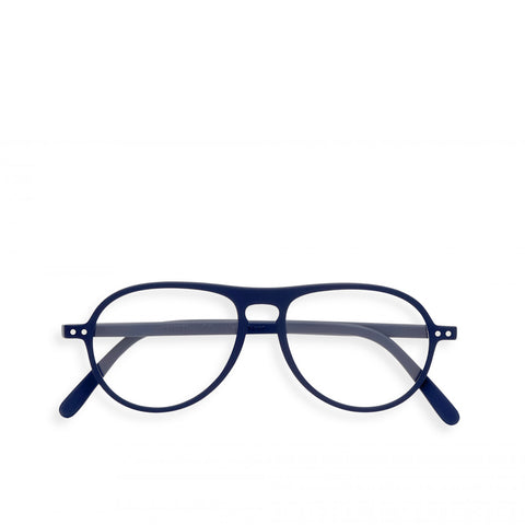 """K"" Navy Blue Reading Glasses"