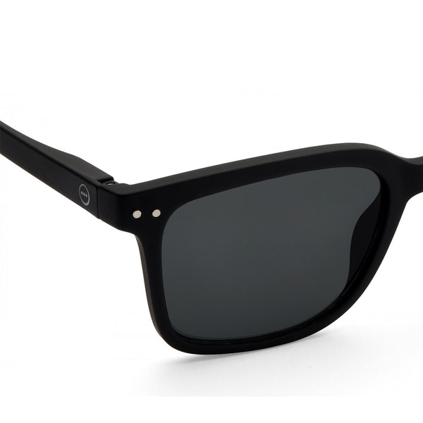 """L"" Black Sunglasses"