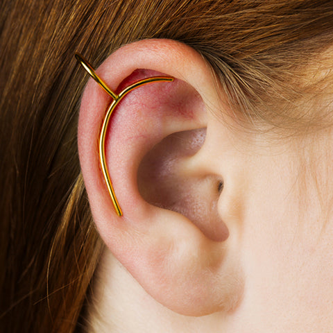 """Lily Gold"" Ear Clip"