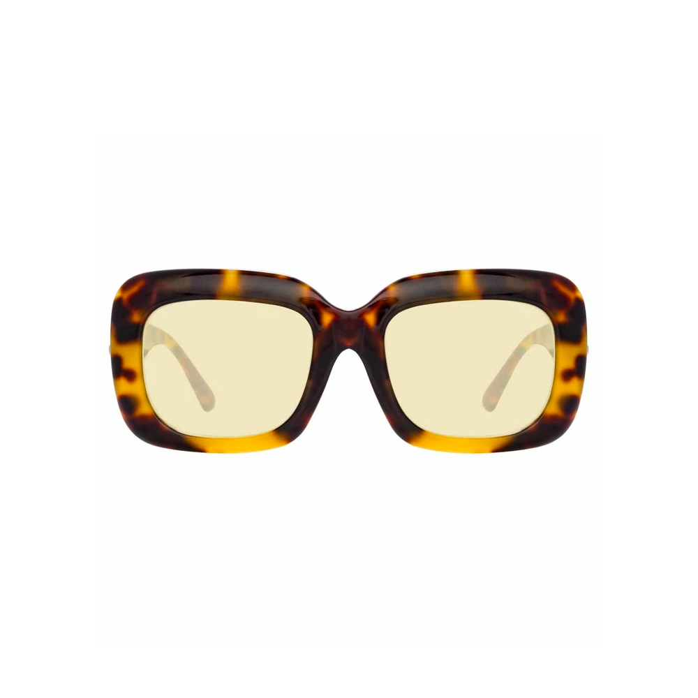 LINDA FARROW TORTOISE SHELL SUNGLASSES (995 C2)