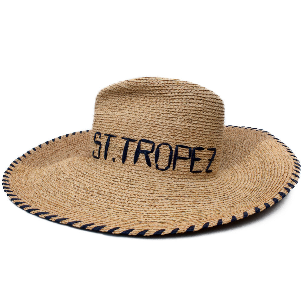 """Deck Plan"" St. Tropez Hat"