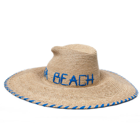 """Deck Plan"" Jaffa Beach Hat"