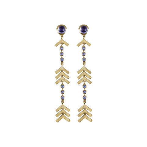 """Long Arrow"" Earrings"