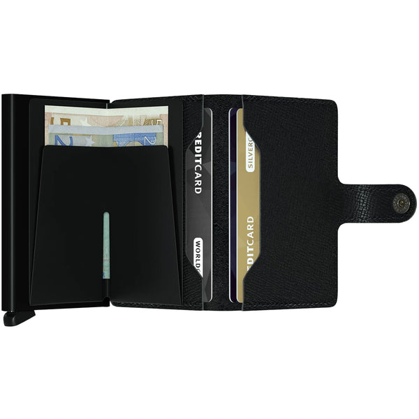 """CRISPLE"" BLACK MINI-WALLET"