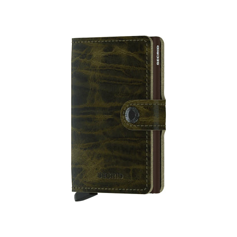 """DUTCH MARTIN"" OLIVE MINI-WALLET"