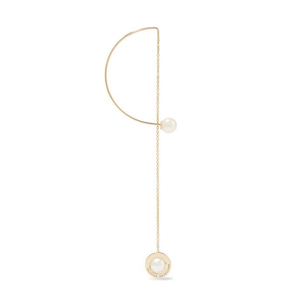 """ABC Fishing for Compliments"" 18k Gold Earring"