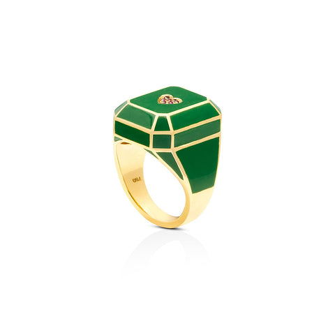 EMERALD PRETTY RING