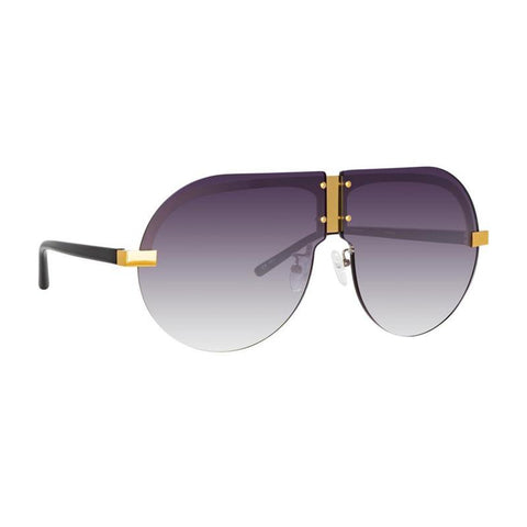 "Matthew Williamson ""252 C4"" Tulip Aviator Sunglasses"