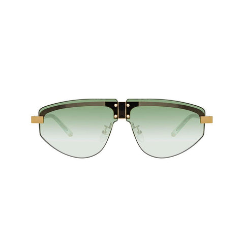 "MATTHEW WILLIAMSON X LINDA FARROW ""HYACINTH"" AVIATOR SUNGLASSES"