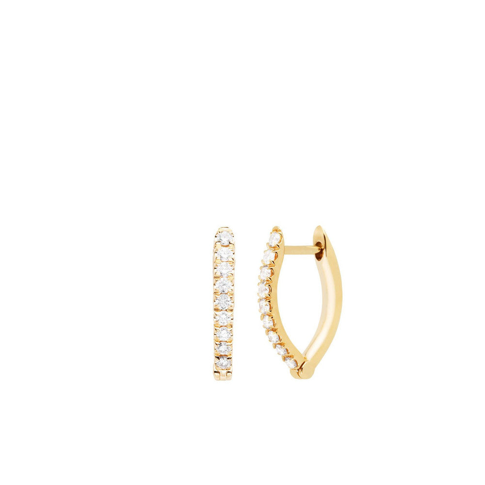 """Cristina"" Small 18k Gold Earrings"