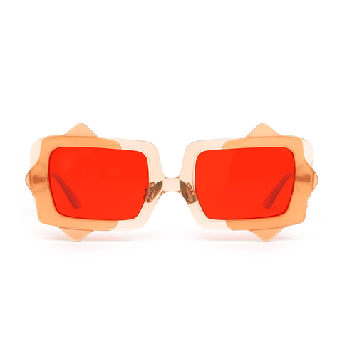 """Moonlit in May"" Red Sea Anemone Sunglasses"