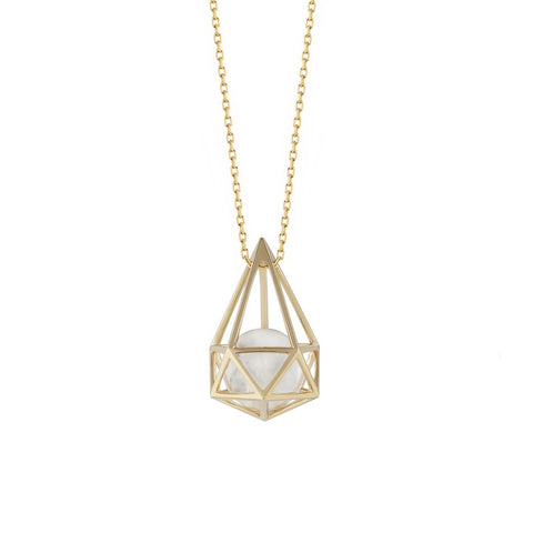 """Laha"" 18k Gold Necklace"