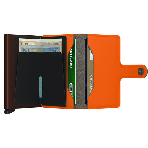 """YARD"" ORANGE MINI-WALLET"