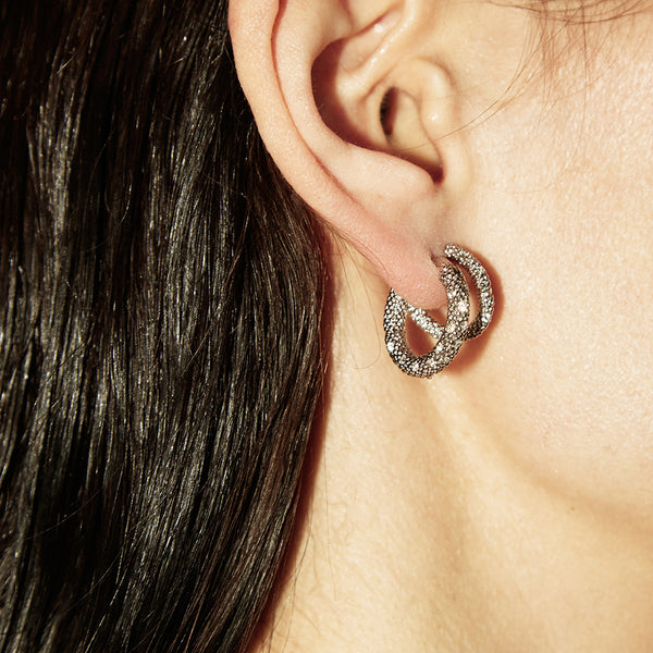 """Stellar"" Zircon Earrings"