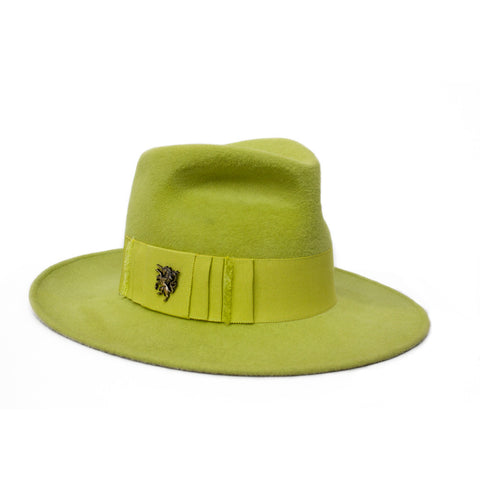 """Pinched Trilby"" Hat"