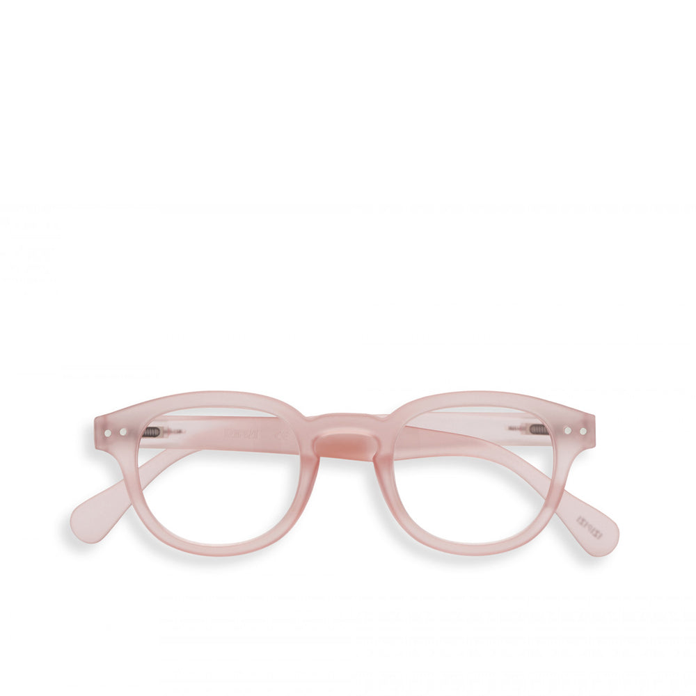 """C"" Pink Reading Glasses"