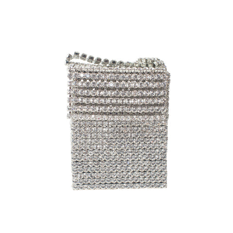 "MINI ""CRYSTAL FLAPPER BAG"""