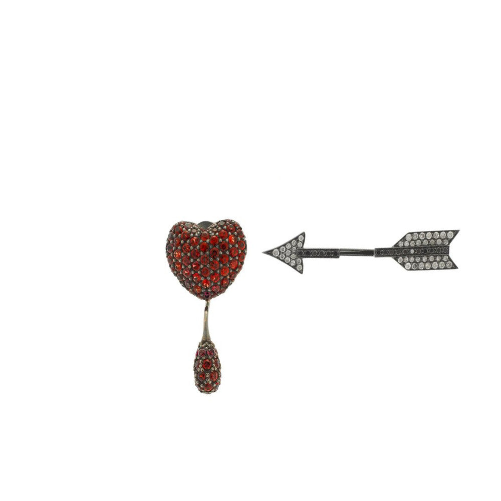 """HEART & ARROW"" EARRINGS"
