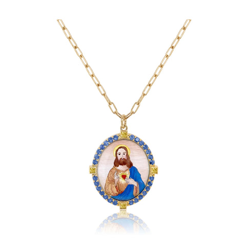 """SACRED HEART OF JESUS"" NECKLACE"