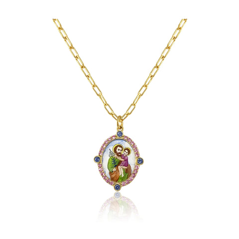 """SAINT ANTHONY"" NECKLACE"