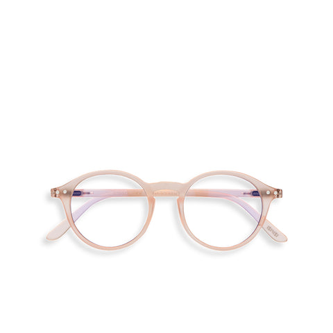 """D"" Rose Quartz SCREEN Glasses"