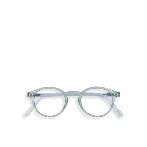 """H"" Frosted Blue SCREEN Glasses"