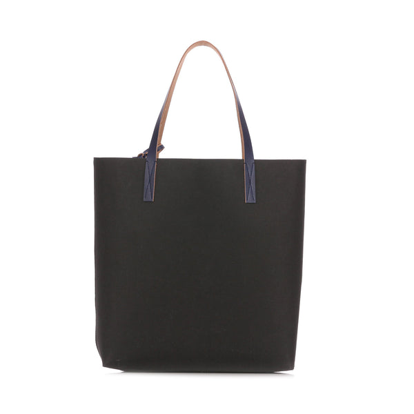 """CELLULOSE SHOPPING BAG"" BLACK, FUCHSIA AND BLUE"