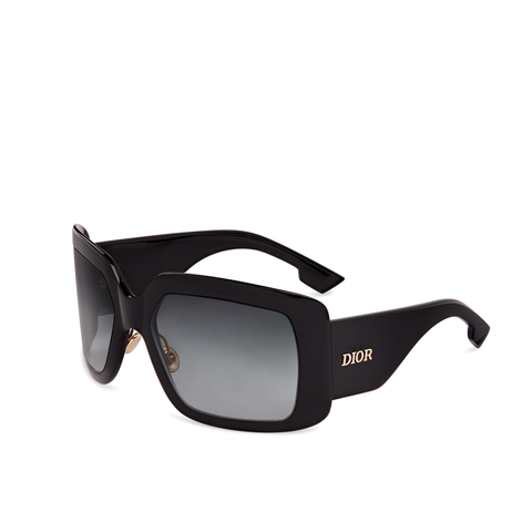"""Solight 2"" Black Sunglasses"