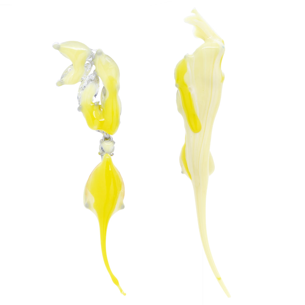"""Yellow Earring"" Drop"