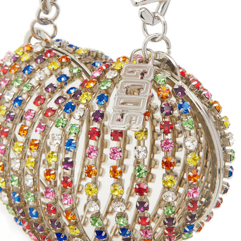 """GCDS"" Heart Strass Bag"