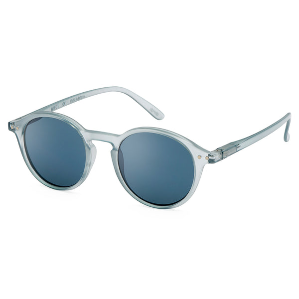"""D"" Frosted Blue Sunglasses"