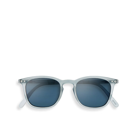"""E"" Frosted Blue Sunglasses"