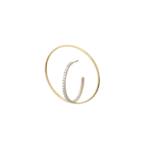 Saturn M Mono Earring