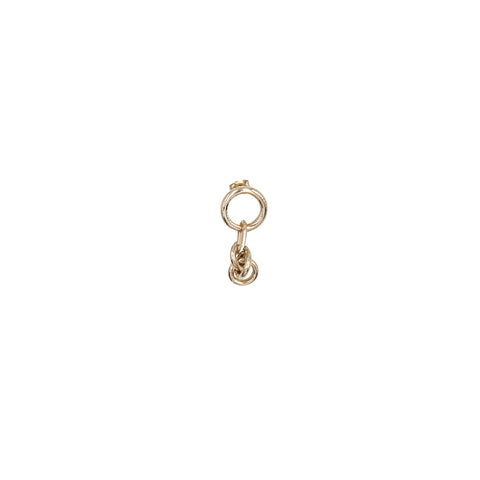 """SHELBY"" SMALL MONO EARRING"