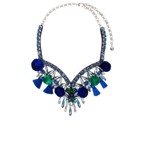 """Tahia Blue"" Necklace"