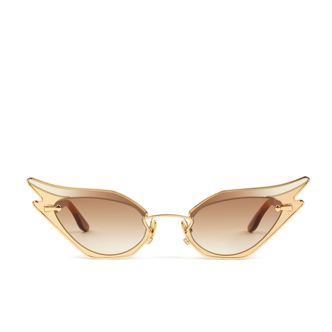 """Wild At Heart"" Silky Tortoise Sunglasses"