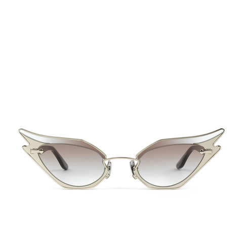 """Wild At Heart"" Silver Spark Sunglasses"