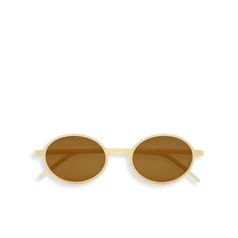 """SLIM"" Cream Sunglasses"