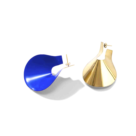 """Small Anish Earrings"" Blue"