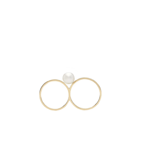 """Double de Perle"" Ring"