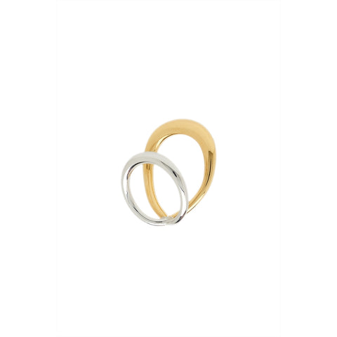 """Surma Ring"" Yellow Vermeil and Silver"