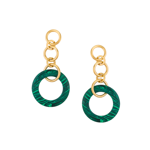 """Tribale Dangling Large"" Earrings"
