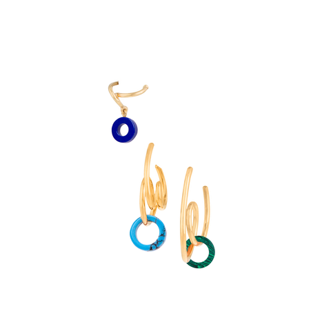 """Three Tribale"" Earrings"